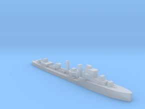 HMS Hardy 1:1800 WW2 destroyer in Smoothest Fine Detail Plastic