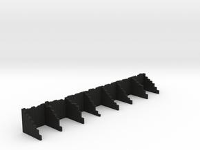 Coal Staithes N in Black Natural Versatile Plastic
