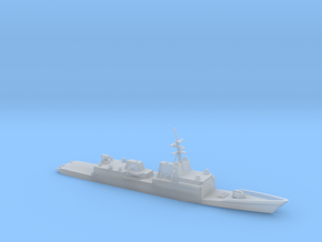 1/1250 Scale General Dynamics FFG(X) Proposal in Smooth Fine Detail Plastic