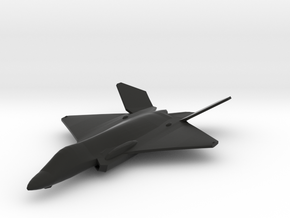 F-35E Lightning II Concept in Black Natural Versatile Plastic: 1:200