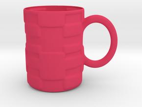 Decorative Mug in Pink Processed Versatile Plastic