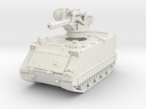 M163 A1 Vulcan (early) 1/87 in White Natural Versatile Plastic