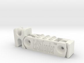 Exshtender v5.20 in White Natural Versatile Plastic