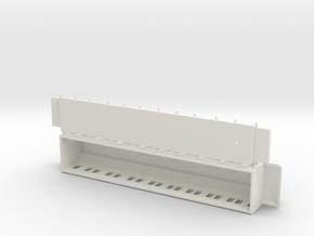 BCo1 model 01 - Swedish passenger wagon in White Natural Versatile Plastic