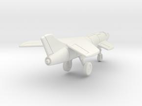 "(1:144) Messerschmitt Me P.1110 ""Ente"" (Gear down) in White Natural Versatile Plastic"