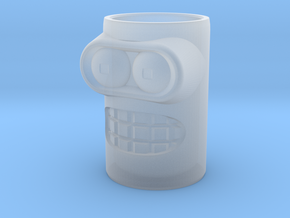 Bender Shot Glass in Smooth Fine Detail Plastic