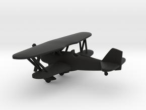Curtiss P-6 Hawk in Black Natural Versatile Plastic: 1:160 - N