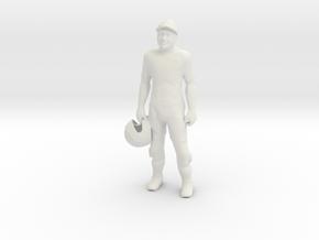 Printle V Homme 966 - 1/18 - wob in White Natural Versatile Plastic