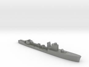 Italian Spica class WW2 torpedo boat 1:2400 in Gray PA12
