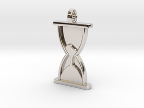 Sands of Time in Rhodium Plated Brass