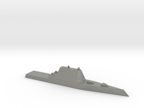 1/1800 Scale USS Zumwalt DDG-1000 Class in Gray PA12