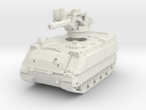 M163 A1 Vulcan (late) 1/72 in White Natural Versatile Plastic