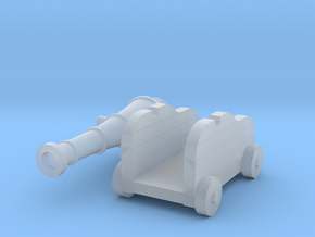 Martian Large Gun 28mm in Smooth Fine Detail Plastic