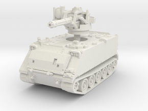 M163 A1 Vulcan late (no skirts) 1/72 in White Natural Versatile Plastic