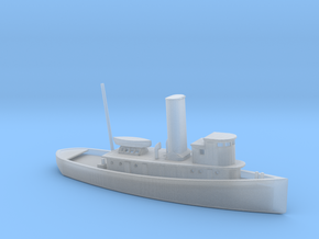1/350 Scale 100 foot wooden harbor tug Retriever in Smooth Fine Detail Plastic