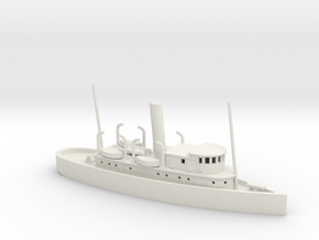 1/350 Scale 125-foot wooden ocean tug Artisan in White Natural Versatile Plastic