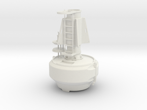 Full Oceans FLC2200 special mark buoy - 1:50 in White Natural Versatile Plastic
