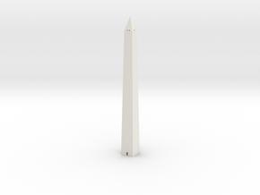 Washington Monument 1/1250 in White Natural Versatile Plastic