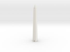 Washington Monument 1/720 in White Natural Versatile Plastic