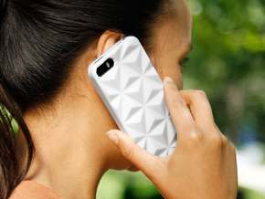 iPhone SE/5/5s DIY Case - Prismada in White Strong & Flexible Polished