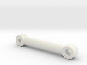 Huina 583 extended bucket tilt rod in White Natural Versatile Plastic