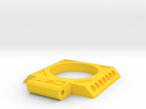SpeedLoader Access Door for Nerf Rival Kronos in Yellow Processed Versatile Plastic