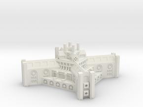 Small Core Top module V1 in White Natural Versatile Plastic