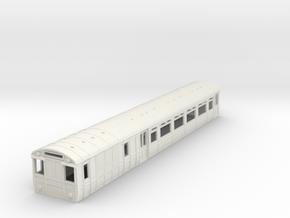 o-87-lnwr-lms-siemens-motor-coach-1 in White Natural Versatile Plastic