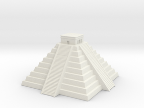 Chichen Itza 1/1250 in White Natural Versatile Plastic