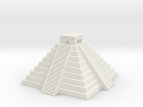 Chichen Itza 1/720 in White Natural Versatile Plastic
