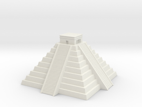 Chichen Itza 1/700 in White Natural Versatile Plastic