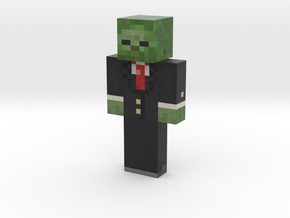 Real_zombie_in_suit_Battle_Beasts | Minecraft toy in Natural Full Color Sandstone
