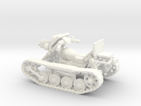 28mm SciFi Astro trackcycle  in White Processed Versatile Plastic