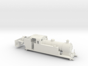 009 Maunsell Tank 1 (Prairie Chassis, Vacuum) in White Natural Versatile Plastic