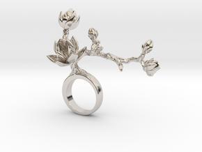 kokli 2 - Bjou Designs in Rhodium Plated Brass