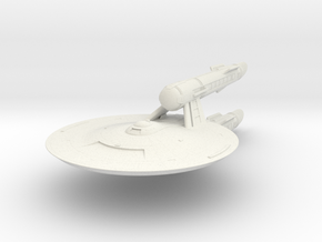 Federation Wilkerson Class IX Destroyer in White Natural Versatile Plastic