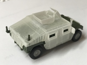 M1151 Humvee Armor w/ Gunner's Protection Kit in Smooth Fine Detail Plastic