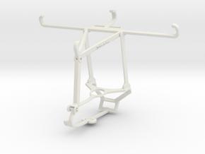 Controller mount for Steam & vivo S1 Pro - Top in White Natural Versatile Plastic