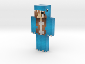 welcometochiIis | Minecraft toy in Natural Full Color Sandstone