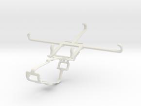 Controller mount for Xbox One & vivo S1 Pro in White Natural Versatile Plastic