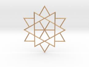 Harmonious Star in Natural Bronze
