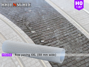 Stone paving roller XXL (H0 1:87) in Smooth Fine Detail Plastic