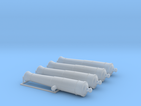 1/48 Canons de 36£ -1766- X4 in Smooth Fine Detail Plastic