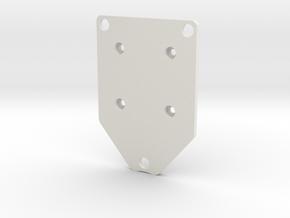 twister3_motor-mount in White Natural Versatile Plastic