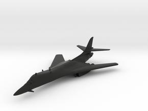 Rockwell B-1 Lancer in Black Natural Versatile Plastic: 1:200