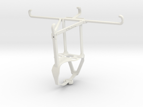 Controller mount for F710 & vivo S1 Pro - Top in White Natural Versatile Plastic