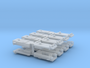8 Sergent Coupler boxes with fine detail in Smooth Fine Detail Plastic