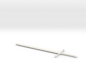 1:6 Miniature Ice Sword (Eddard Stark) - GOT in White Natural Versatile Plastic