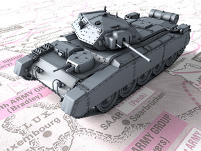 1/72 British Crusader Mk II Medium Tank in Smooth Fine Detail Plastic