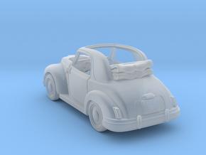 Fiat Topolino 1950 1:120 TT in Smooth Fine Detail Plastic